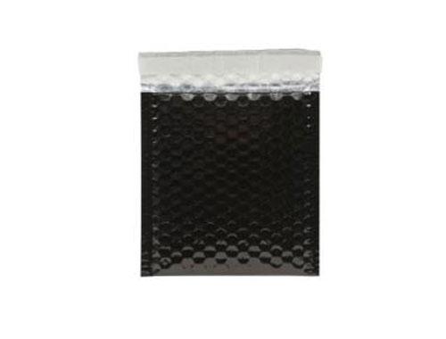 230 x 230mm Black Metallic Bubble Envelopes