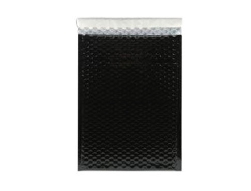 320 x 450mm Black Metallic Bubble Envelopes