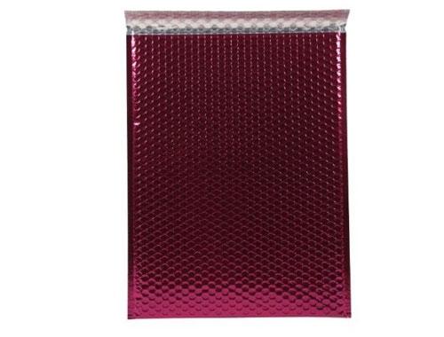 180 x 250mm Metallic Pink Padded Envelopes