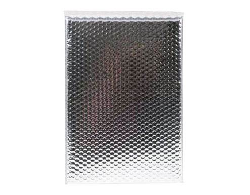 140 x 165mm Metallic Silver Bubble Envelopes