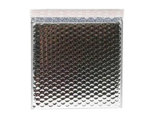 165 x 165mm Metallic Silver Bubble Envelopes