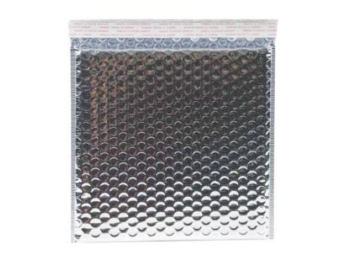 230 x 230mm Metallic Silver Bubble Envelopes