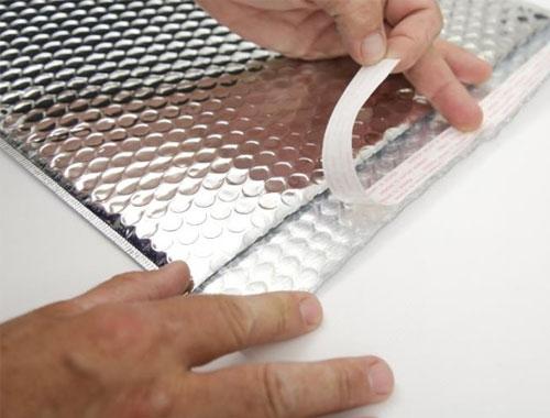 230 x 230mm Metallic Silver Bubble Envelopes - 3