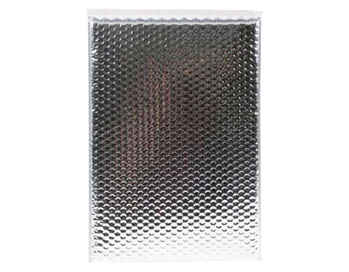 180 x 250mm Metallic Silver Bubble Envelopes