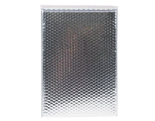 C4 Metallic Silver Bubble Envelopes