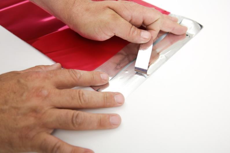 Magenta Metallic Foil Mailer - 120 x 160mm - 3