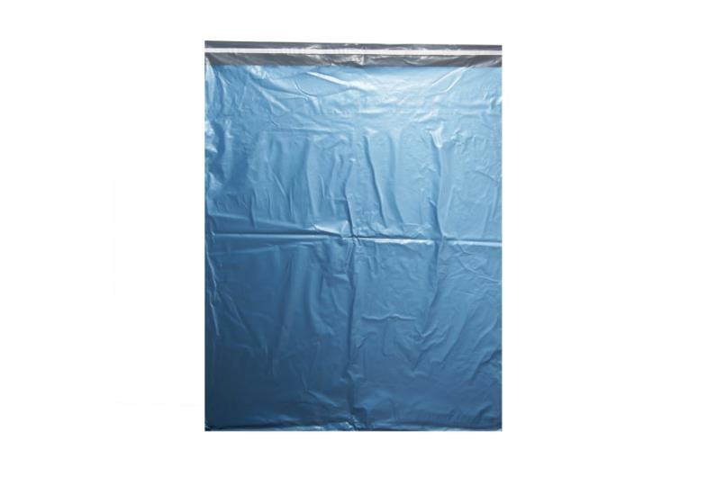 Metallic Blue Poly Mailer - 750 x 900mm
