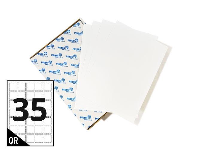 35 Per Sheet A4 Labels - Square Corners
