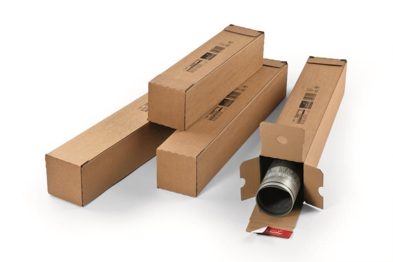 A1 ColomPac Square Postal Tubes - 2