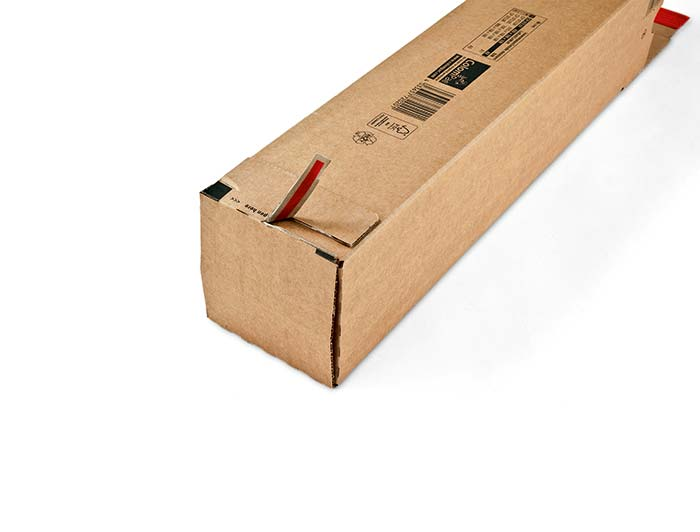705 x 108 x 108mm ColomPac Square Postal Tubes