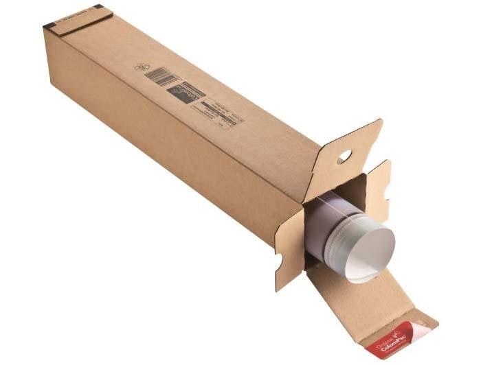 705 x 108 x 108mm ColomPac Square Postal Tubes - 2