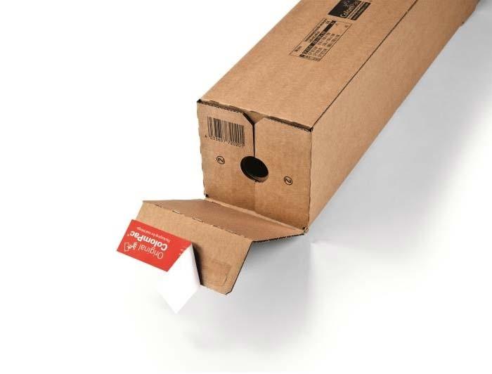 705 x 108 x 108mm ColomPac Square Postal Tubes - 4