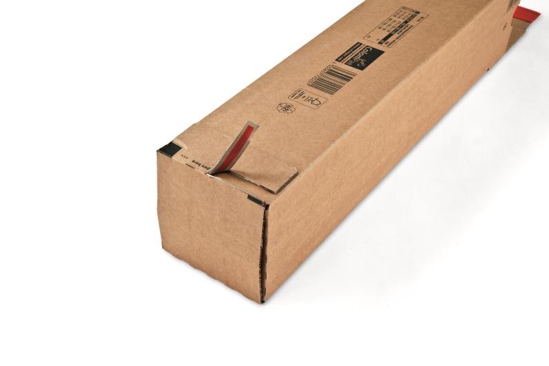A0 ColomPac Square Postal Tubes - 4