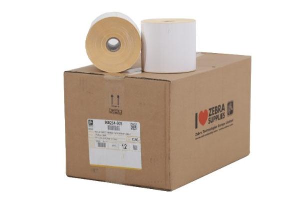 4 x 2 Zebra Thermal Labels