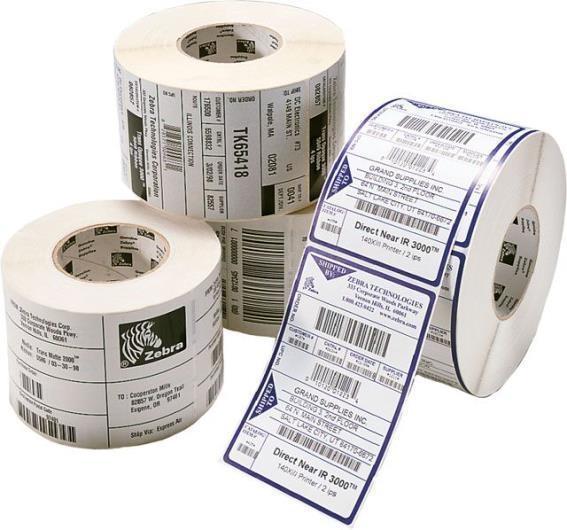 4 x 8 Zebra Thermal Labels - 2