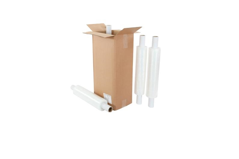 400mm x 250m x 23mu Extended Core Pallet Wrap - Clear - 2