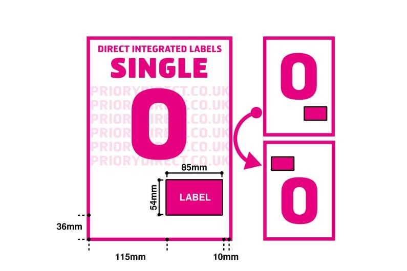 Single Integrated Label - Style O
