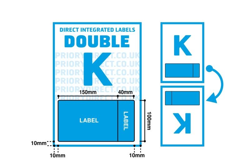 Double Integrated Label - Style K