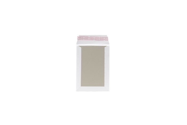 163 x 238mm Board Backed Envelopes - White - 3