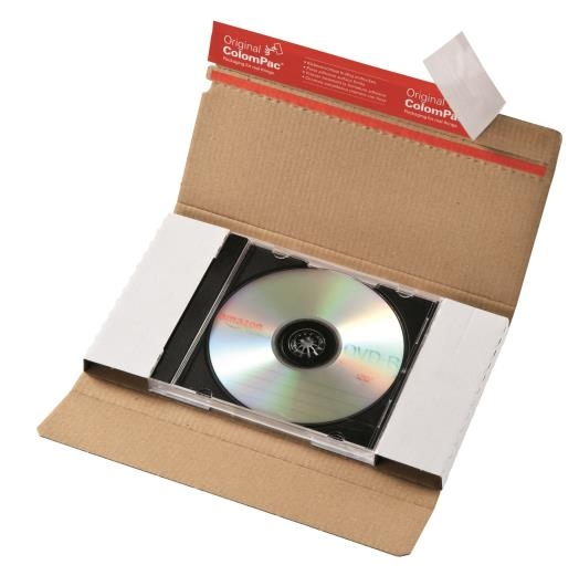 CP 042.01 - ColomPac CD Mailer - 225 x 125 x 12mm - 3
