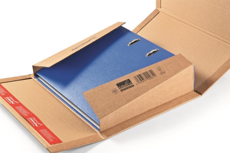 CP 055.01 - ColomPac Book Wrap - 320 x 290 x 35-80mm - 2