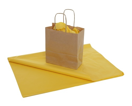 "Light Yellow Tissue Paper 20 x 30/"" 500 x 750mm Choose Qty"