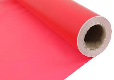 Frosted Red Cellophane Rolls - 800mm x 80m