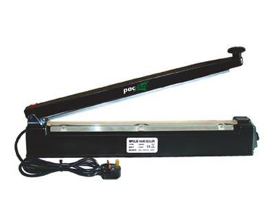 Impulse Heat Sealer With Cutter - 500mm