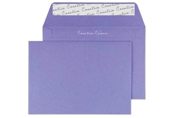 C5 Summer Violet Envelope - Wallet - 120gsm