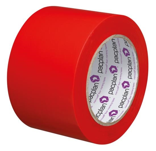 Red Floor Marking Tape - 75mm x 33m