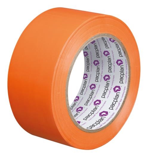Orange Floor Marking Tape - 50mm x 33m