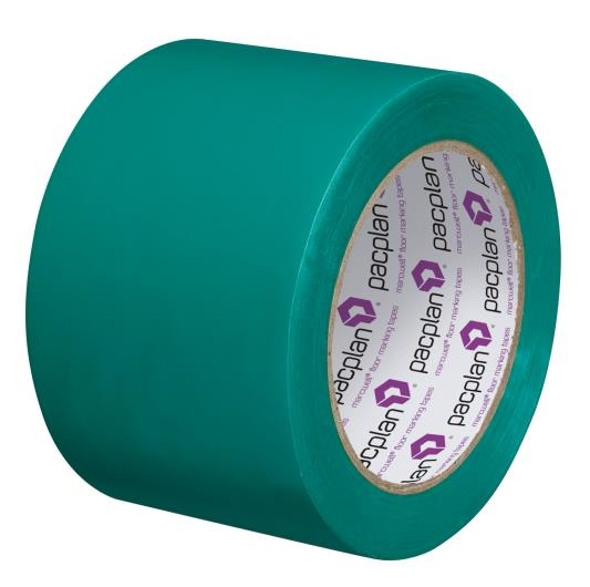 Green Floor Marking Tape - 75mm x 33m