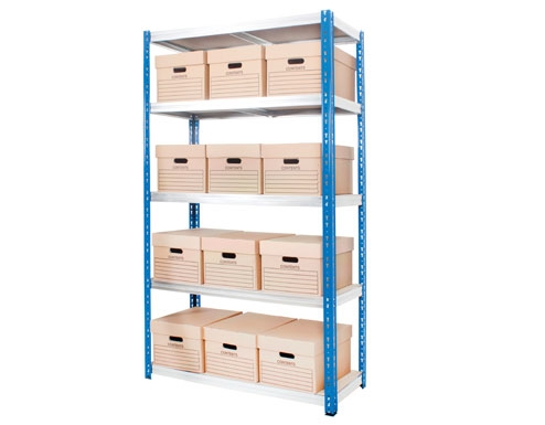 1000 x 300 x 2000mm Industrial Shelving - 2