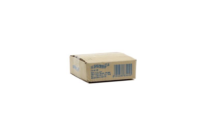 187x187mm Clear Grip Seal Bags - 2