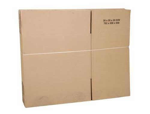 350 x 350 x 200mm Double Wall Cardboard Boxes