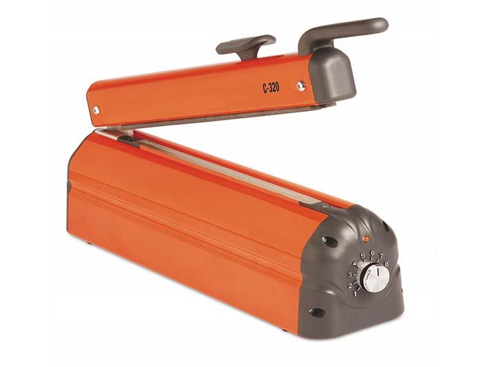 Impulse Heat Sealer with Cutter - 320mm - C-Type