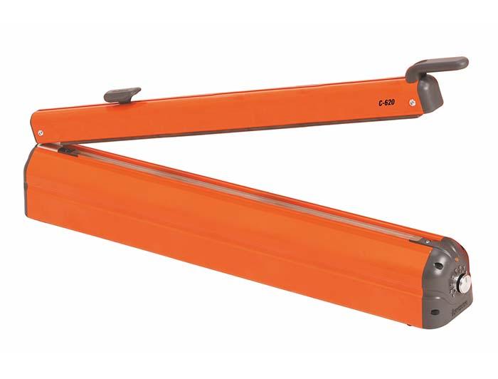 Impulse Heat Sealer with Cutter - 620mm - C-Type
