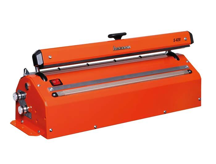 Industrial Impulse Heat Sealer with Cutter - 420mm - S-Type