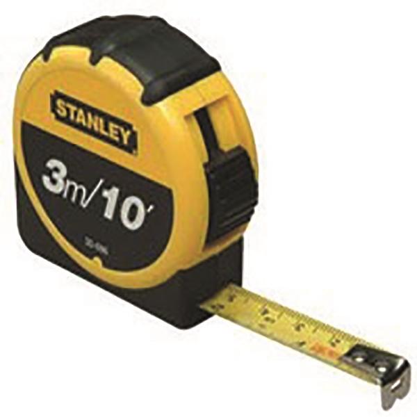 3m Stanley Retractable Tape Measure
