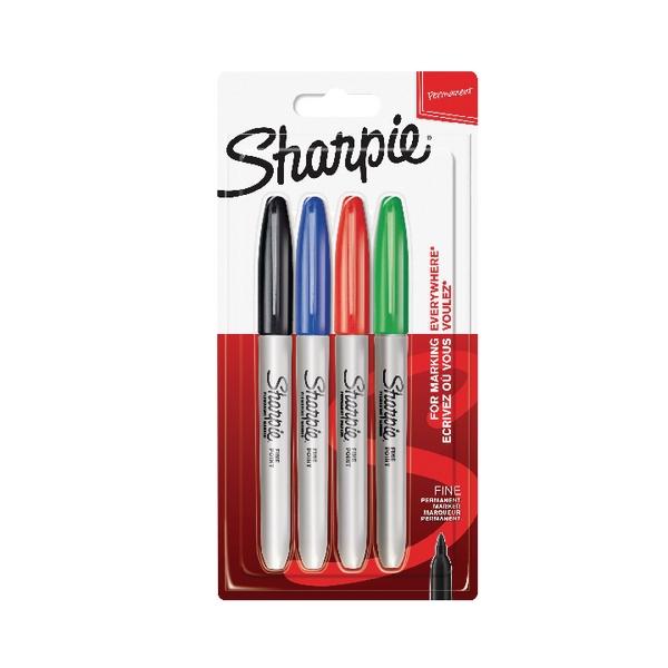 Sharpie Fine Permanent Markers - Assorted - 2
