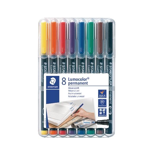 Staedtler Lumocolor Permanent Fine Tip - Assorted