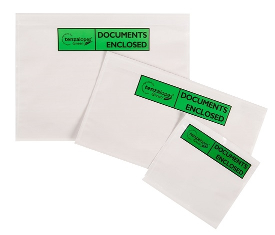 C4/A4 Oxo-Biodegradable Document Enclosed Envelopes - Printed