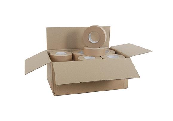 70mm x 200m 76mm Core Gummed Paper Tape - 60gsm - 2