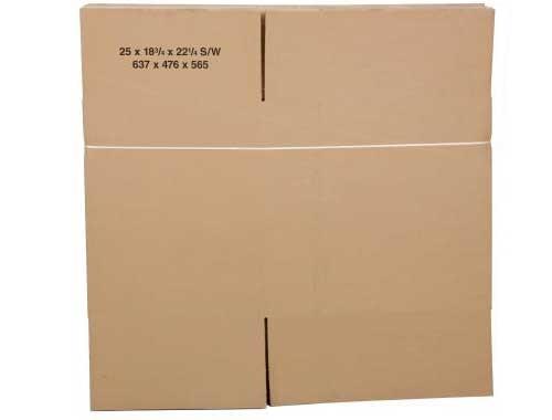 620 x 356 x 178mm Single Wall Cardboard Boxes - 2