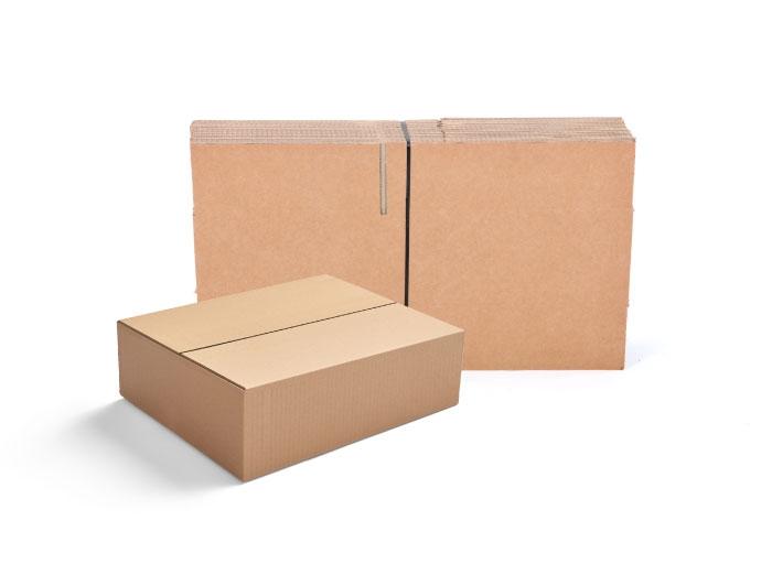 620 x 356 x 178mm Single Wall Cardboard Boxes - 5