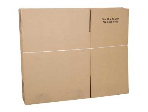 229 x 229 x 152mm Double Wall Cardboard Boxes - 2