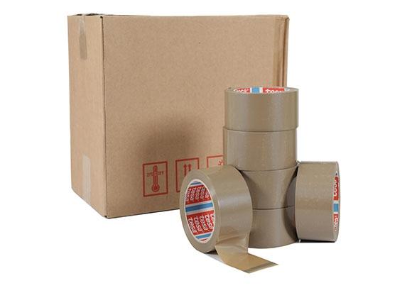48mm x 66m Tesa 4280 Packing Tape - Brown