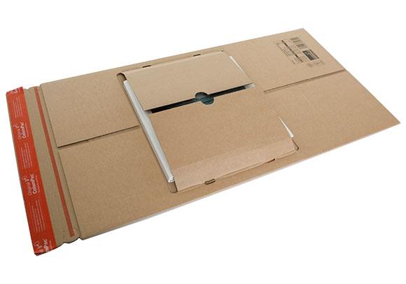 CP 035.02 - Colompac Reinforced Book Wrap - 250 x 190 x 85mm