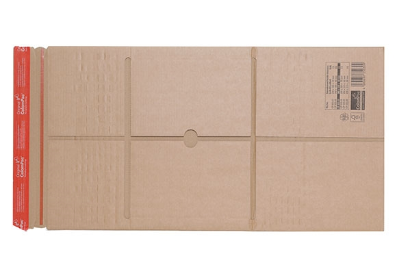 CP 035.02 - Colompac Reinforced Book Wrap - 250 x 190 x 85mm - 2