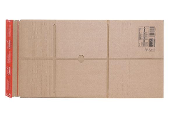 CP 035.04 - Colompac Reinforced Book Wrap - 350 x 260 x 70mm - 2